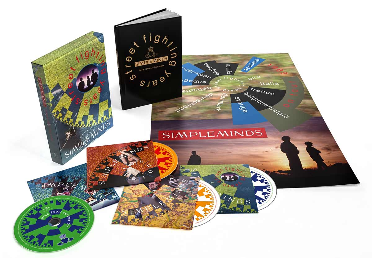 News – Simple Minds – Street Fighting Years – CD Box Set