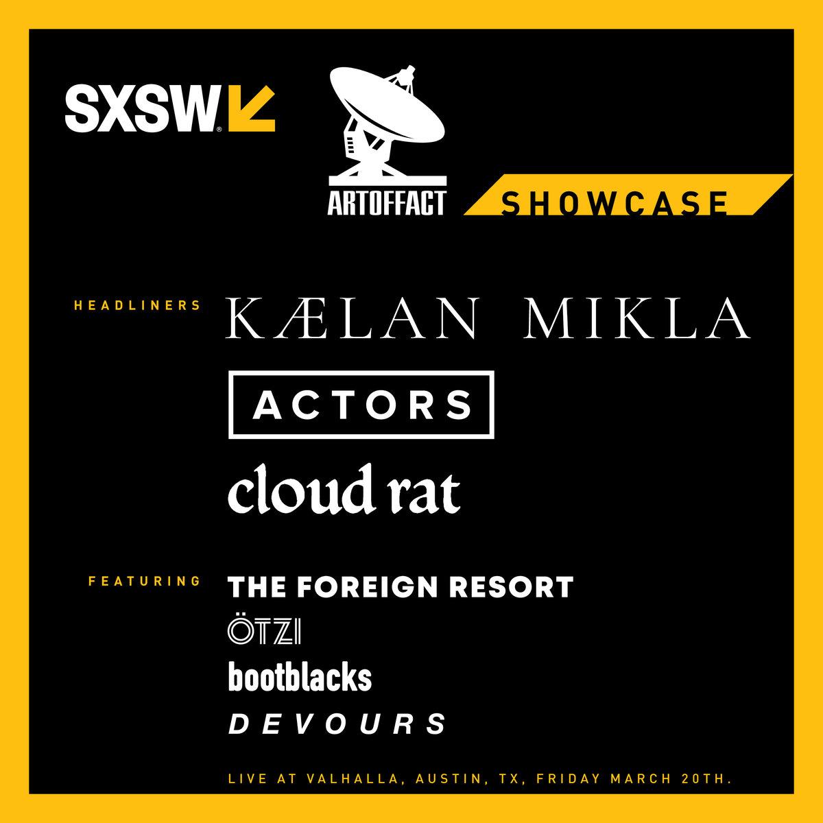 Festival – Music Festival SXSW 2020 – Artoffact Showcase