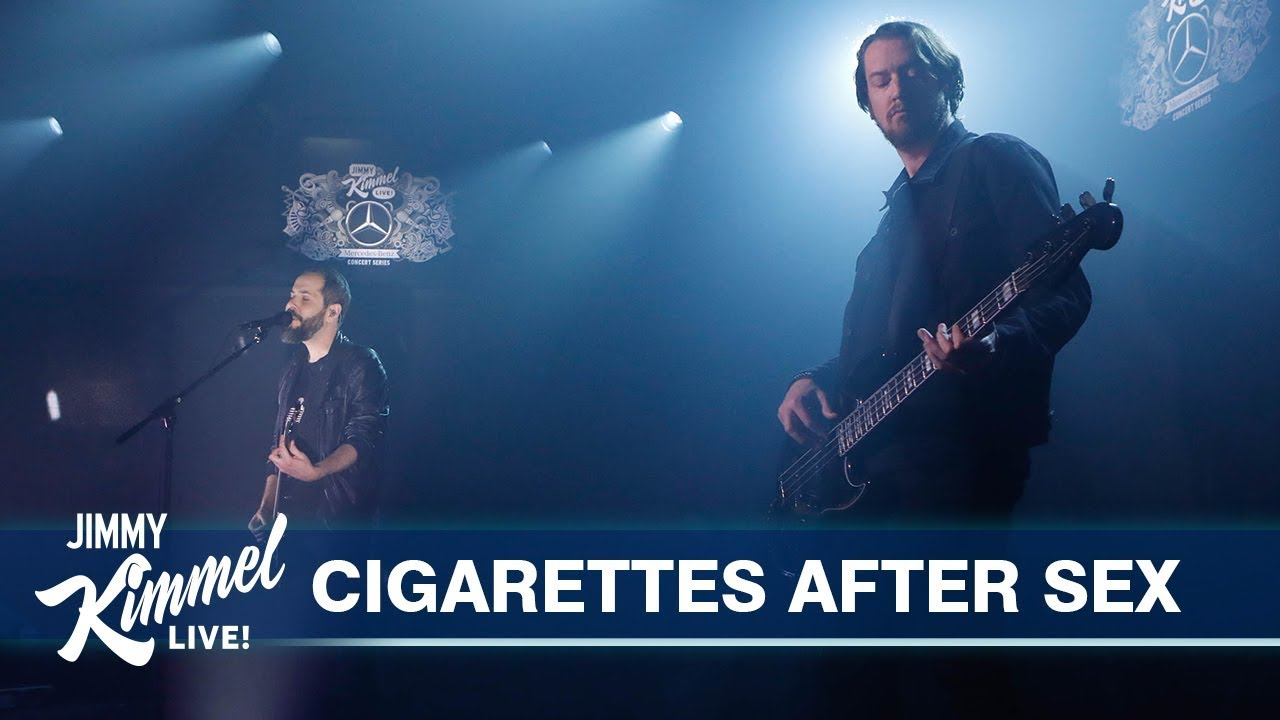 Le Live de la semaine – Cigarettes After Sex – Jimmy Kimmel Live