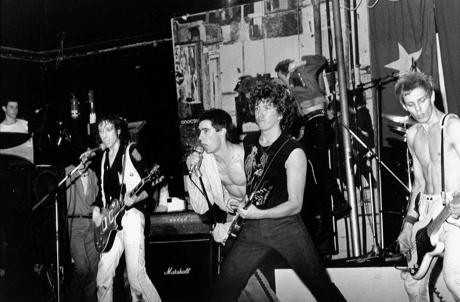 Pictures On My Wall – The Clash on stage with Steve Jones and Jimmy Pursey – Janette Backman