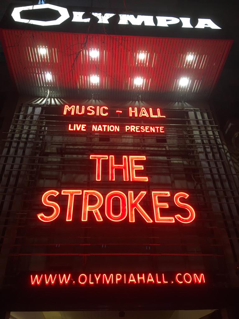 Live Report by Tuco – The Strokes – Paris – Olympia – 18/02/2020