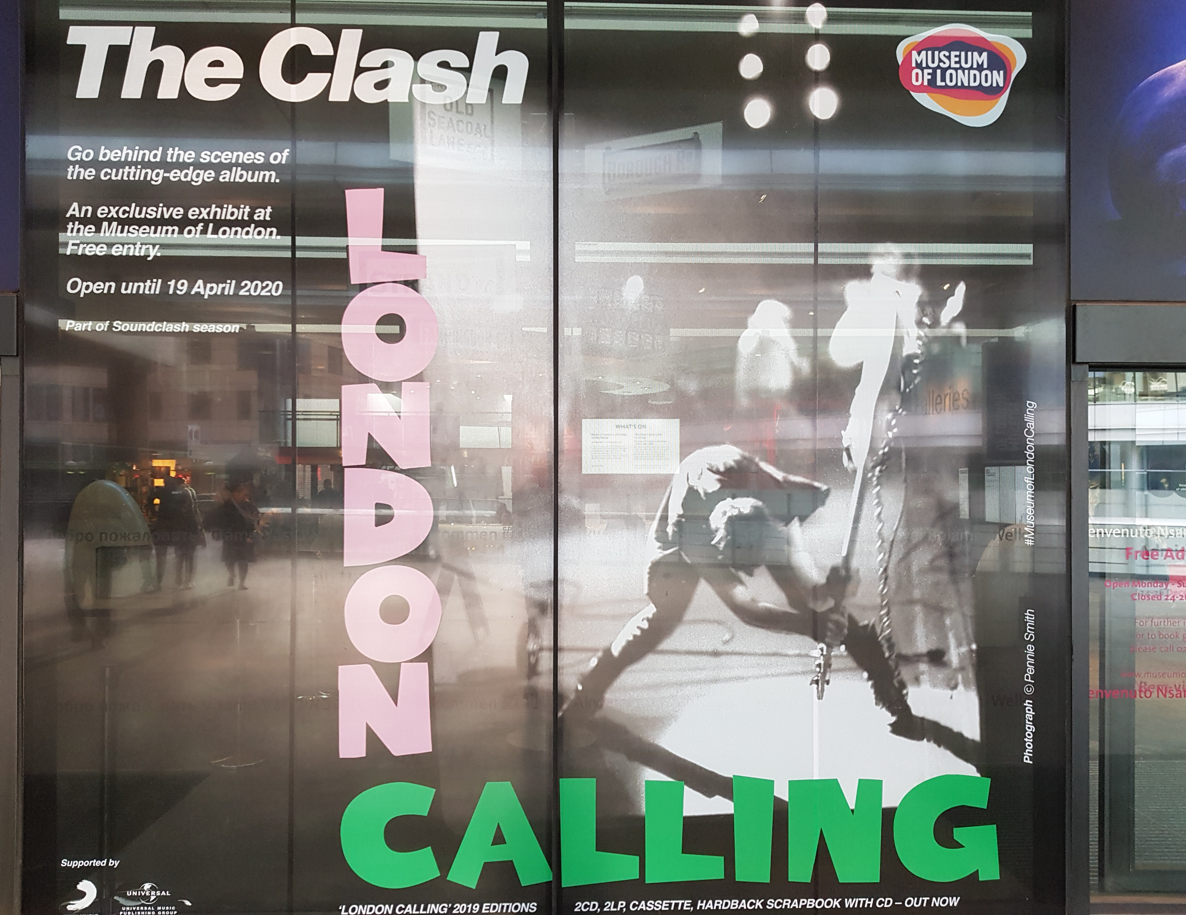 Live Report by Romu – The Clash : London Calling – London Museum – 23/12/19