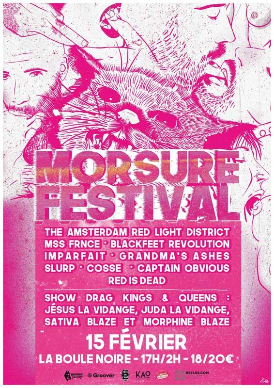 Festival – Morsure Festival 2020 – 15 février – Paris