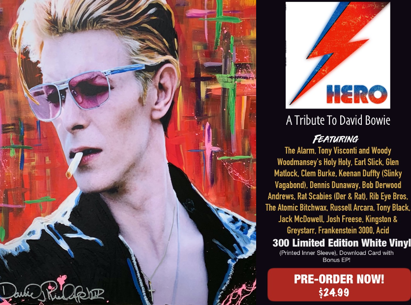 News – Hero: A Tribute to David Bowie