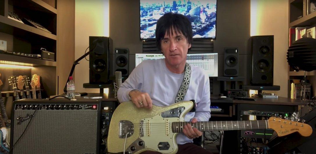 News – Johnny Marr – The Headmaster Ritual – Fender Artist Check-In