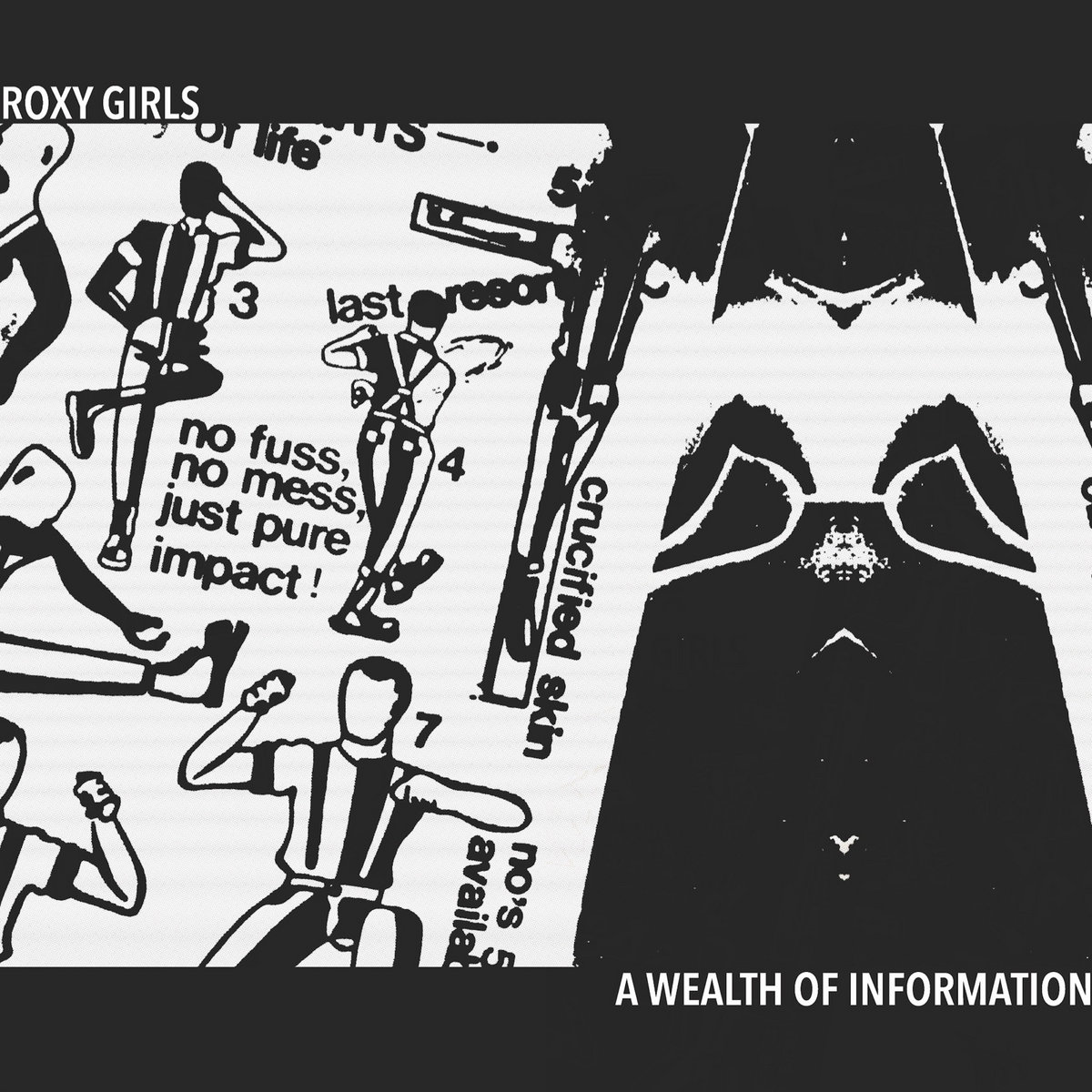 Post-punk shivers – Roxy Girls – A Wealth Of Information EP