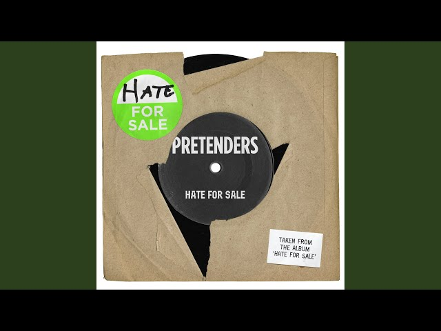 News – The Pretenders – Hate For Sale