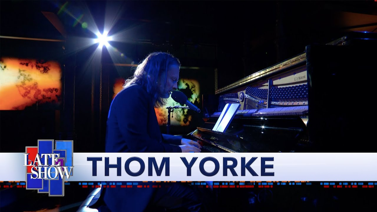 Le Live de la semaine – Thom Yorke – Daily Battles (Live @ The Late Show With Stephen Colbert)