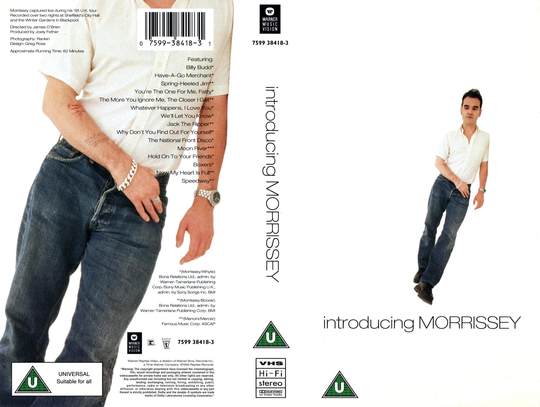 News – Morrissey – Introducing Morrissey