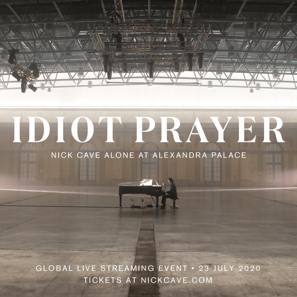 News – Nick Cave – Idiot Prayer: Nick Cave Alone at Alexandra Palace