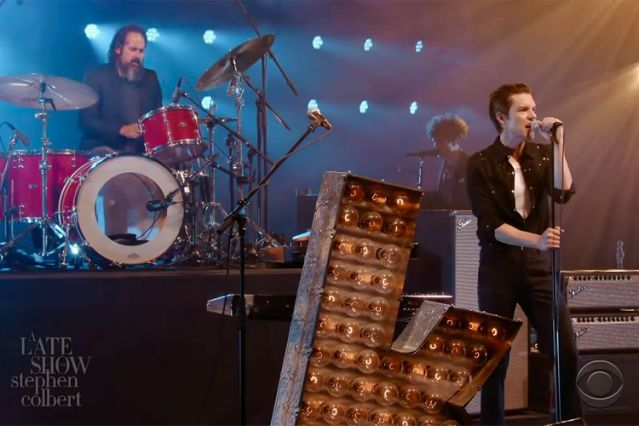 Le Live de la semaine – The Killers – Blowback – The Late Show with Stephen Colbert