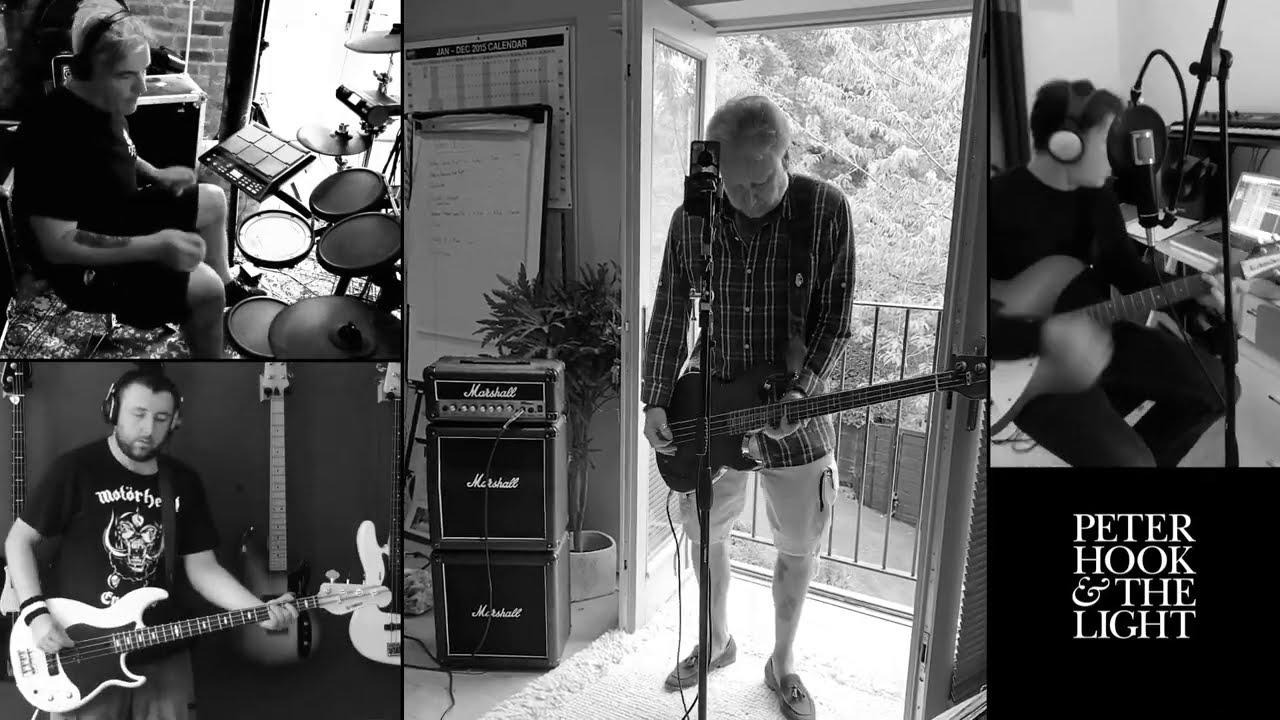 Le live de la semaine – Peter Hook & The Light – Homage – 2020