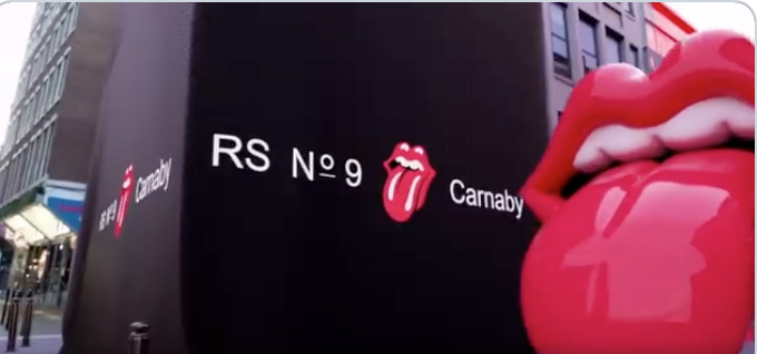 Curiosities – The Rolling Stones – Ouverture de RS No. 9 Carnaby
