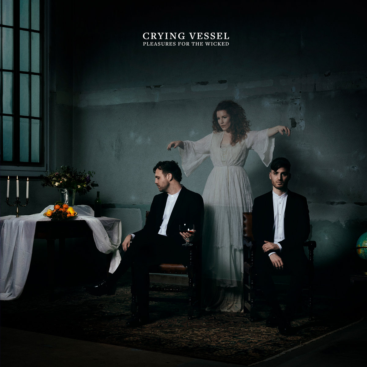 Post-punk shivers – Crying Vesse – Pleasures For The Wicked
