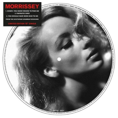 News – Morrissey – Honey, You Know Where To Find Me – 10″ – RSD 2020