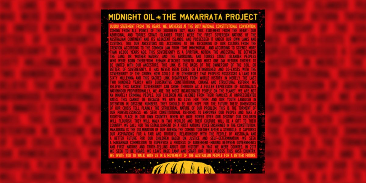 News – Midnight Oil – First Nation