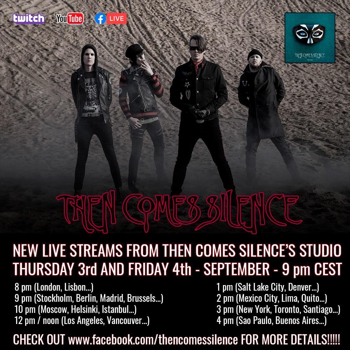 Le Live de la semaine – Then Comes Silence – September Live Stream