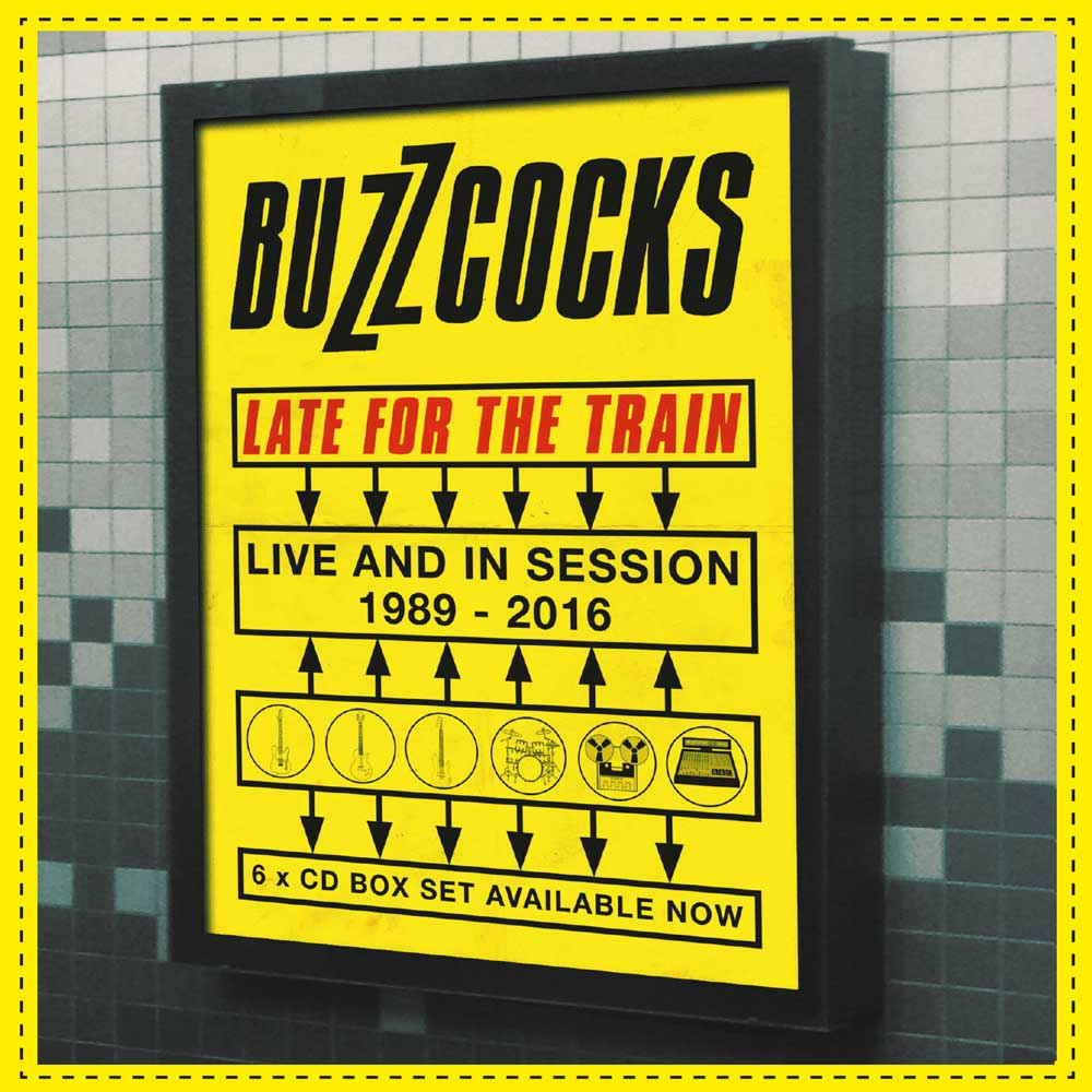 News – Buzzcocks – Late For The Train – Live & In Session 1989 – 2016