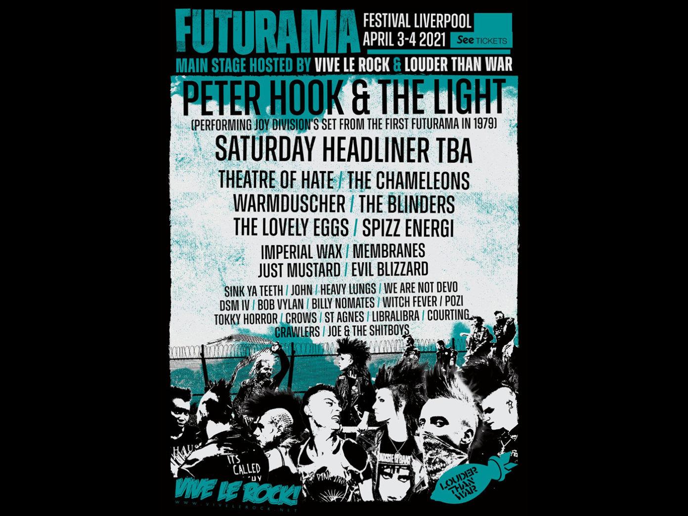 Festival – Futurama Festival – Liverpool 2021