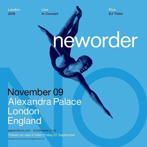 News – New Order – Live at Alexandra Palace