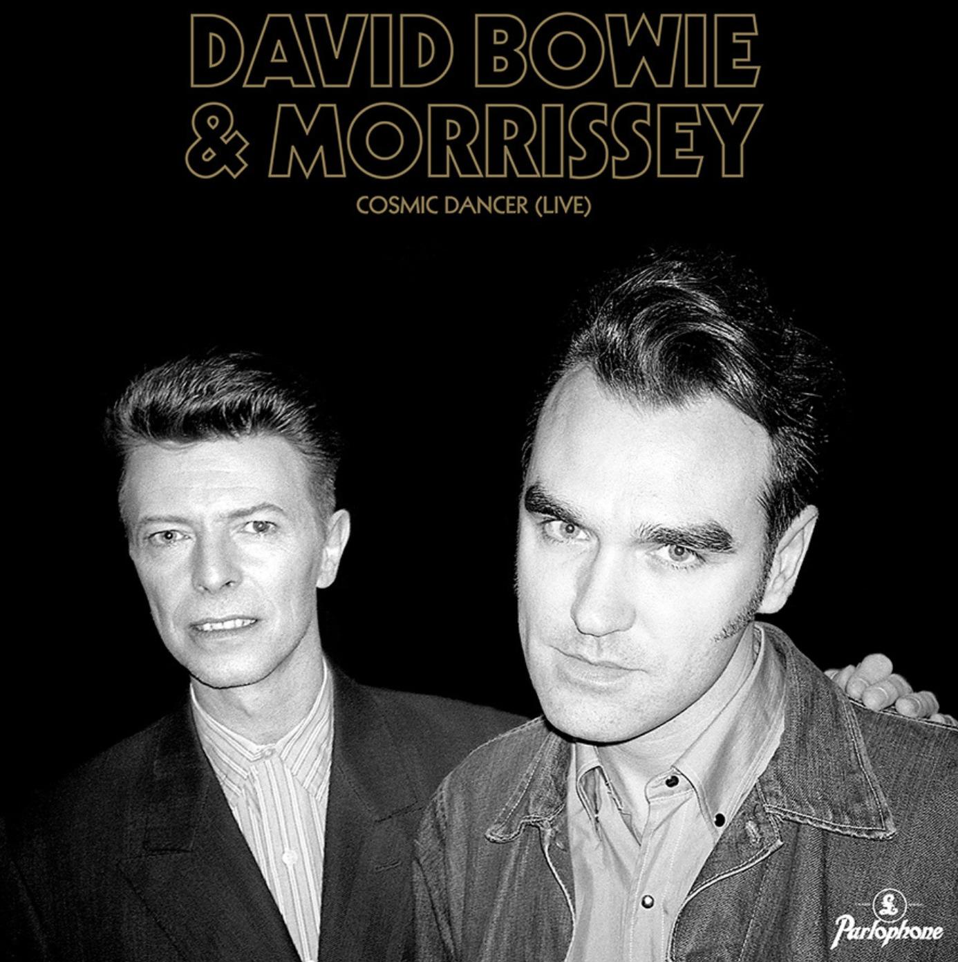 News – David Bowie & Morrissey – Cosmic Dancer (audio)