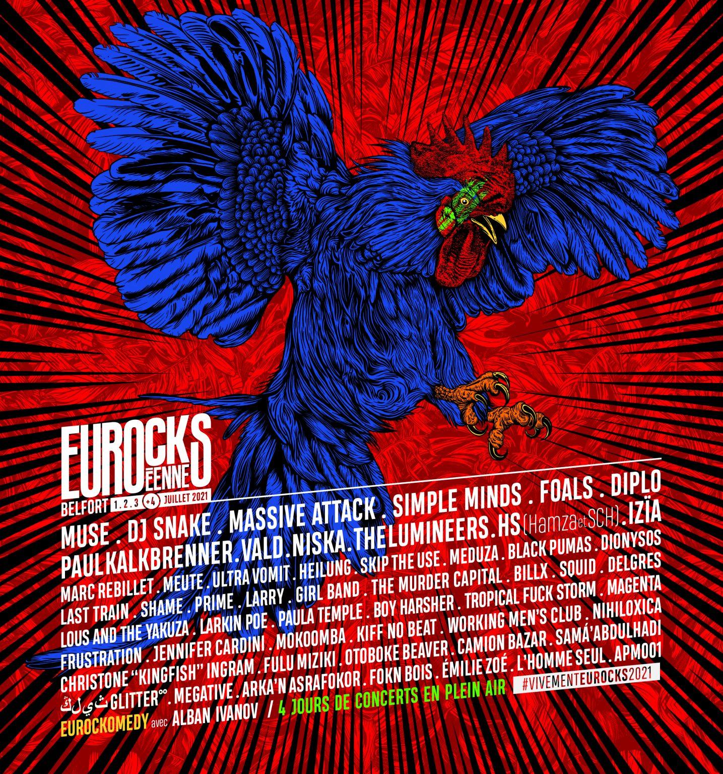 Festival – Les Eurockéennes de Belfort 2021