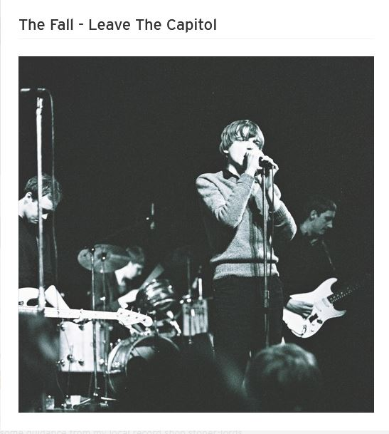 News – The Fall: Live at St. Helens Technical College, '81