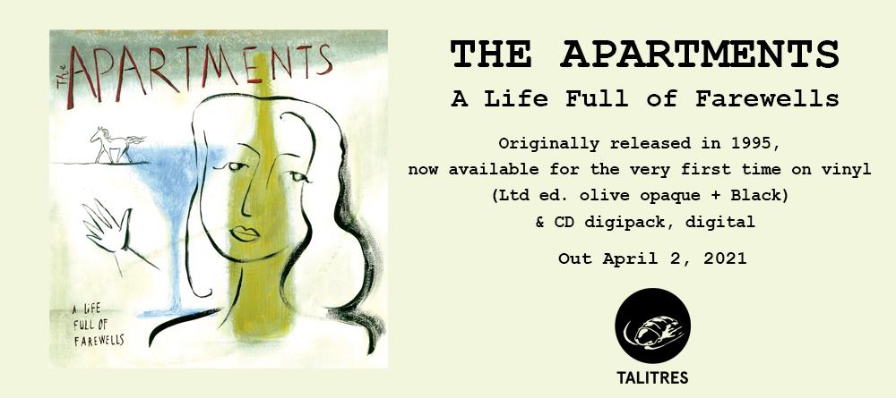 News – The Apartments – A Life Full of Farewells – Réédition