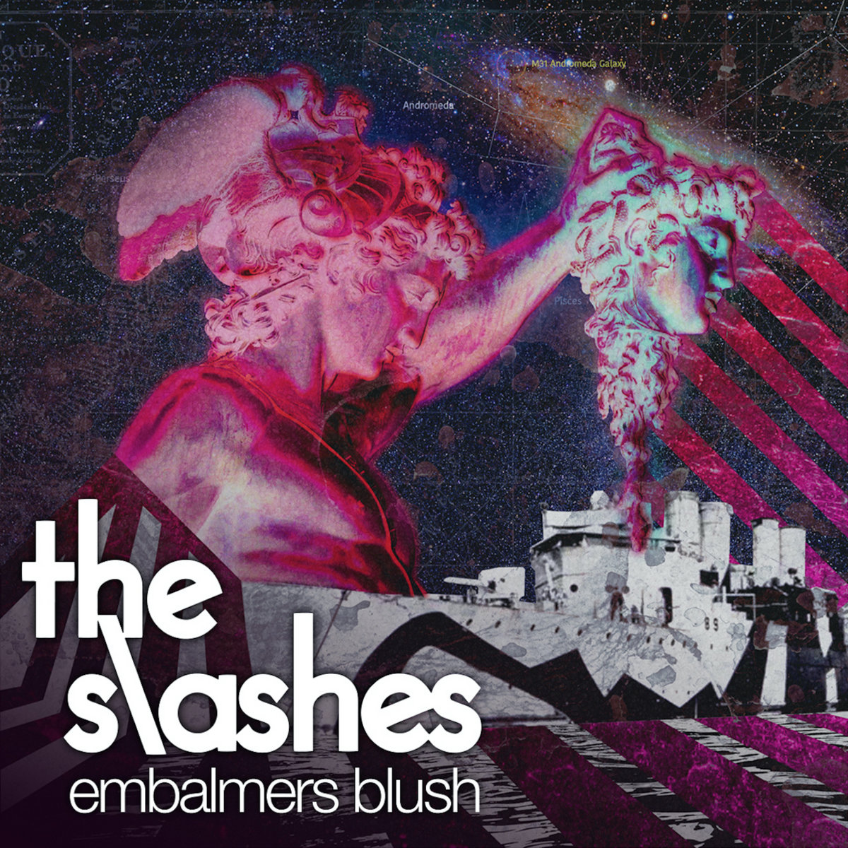 Post-punk shivers – The Slashes –  Embalmers Blush