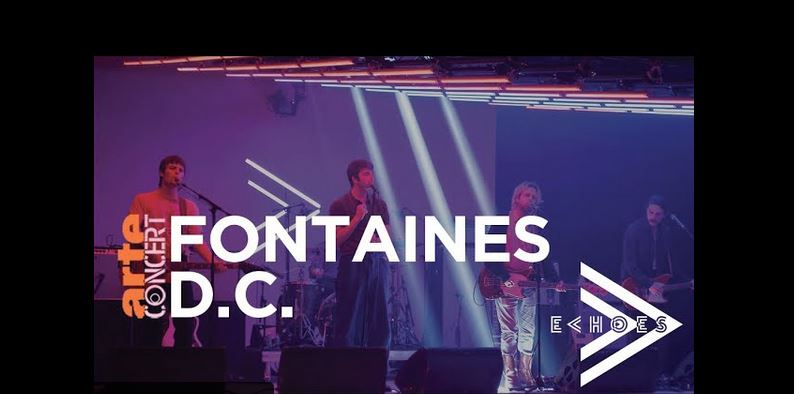 News – Fontaines D.C – Echoes with Jehnny Beth – ARTE Concert