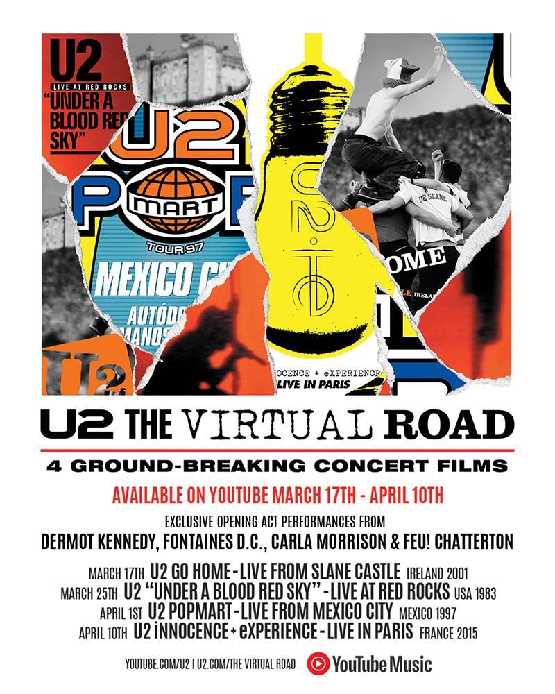 News – U2 – The Virtual Road