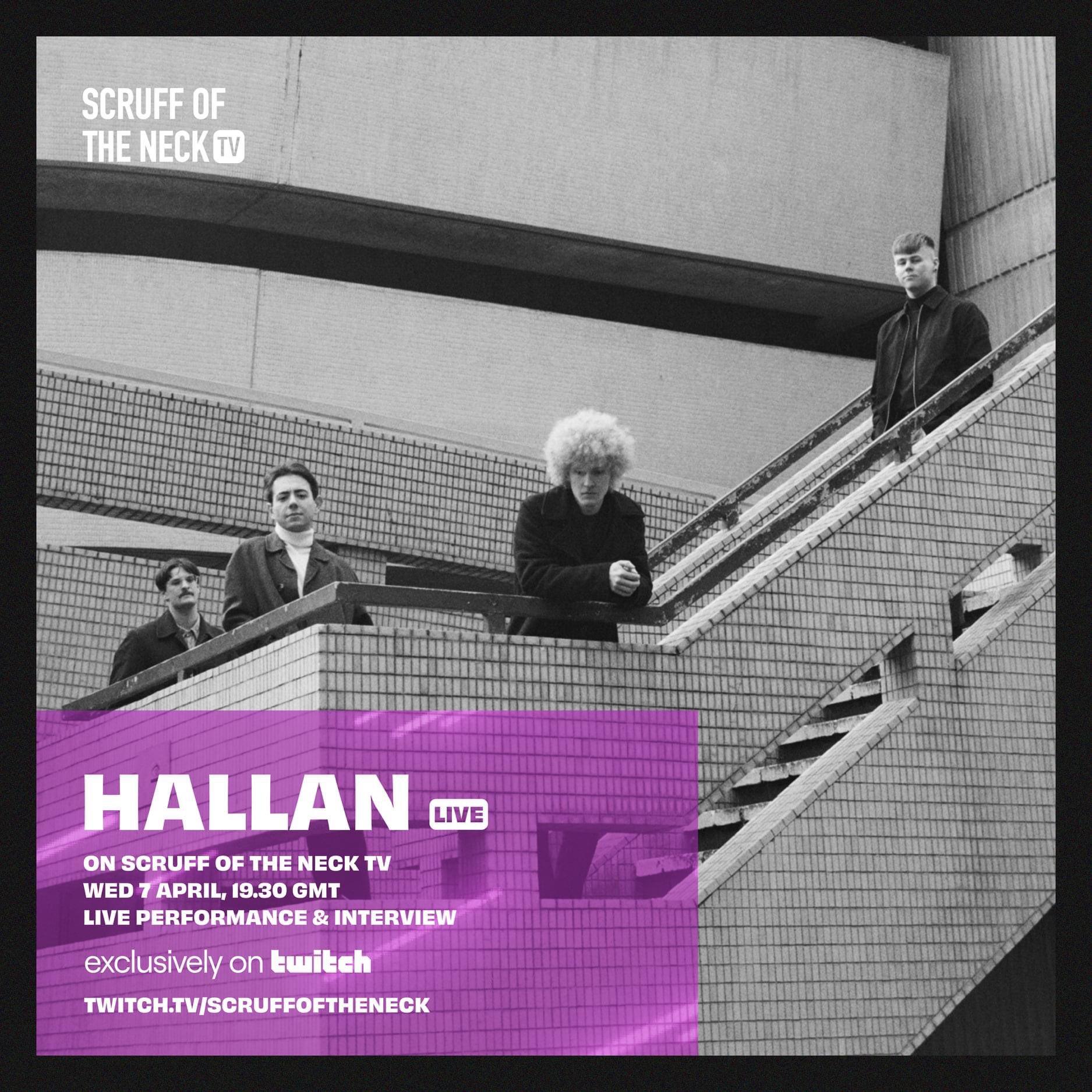 Le Live de la semaine – Hallan – Hands Up (Live on Scruff of the Neck TV)