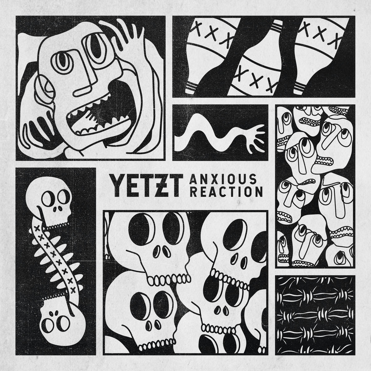 Post-punk shivers – Yetzt – Anxious Reaction