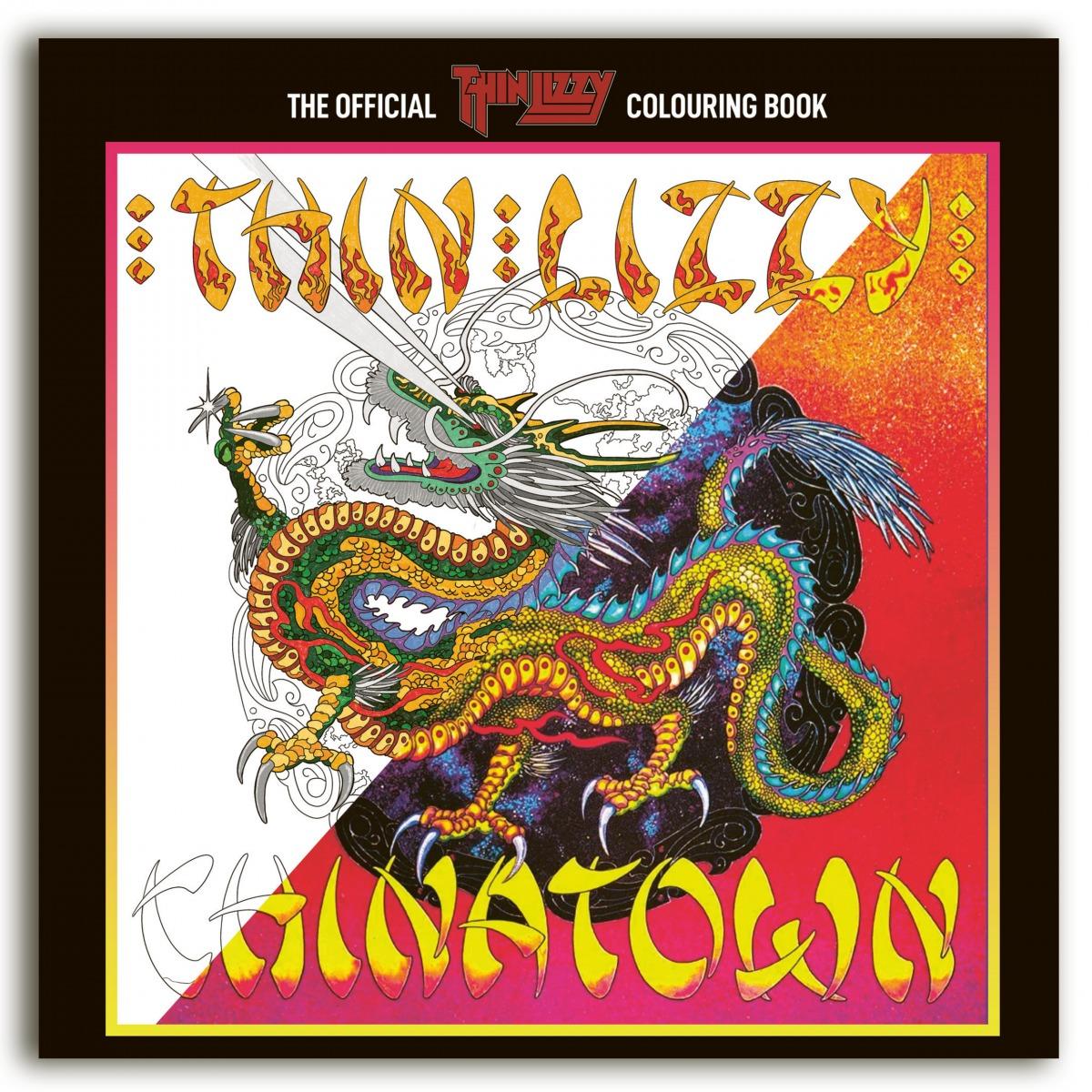 Curiosities – Des livres de coloriages Megadeth et Thin Lizzy