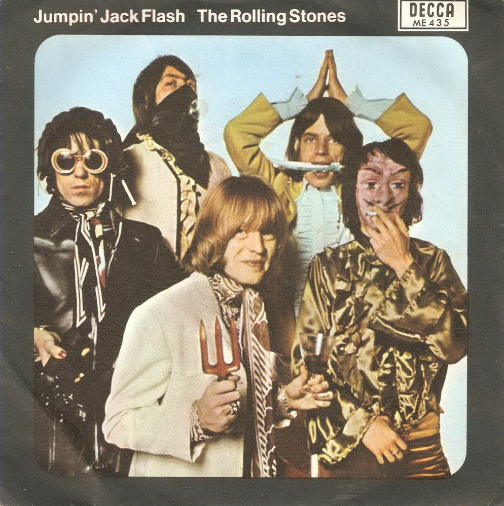 News – The Rolling Stones – Jumpin' Jack Flash / Child Of The Moon (Official Lyric Video)