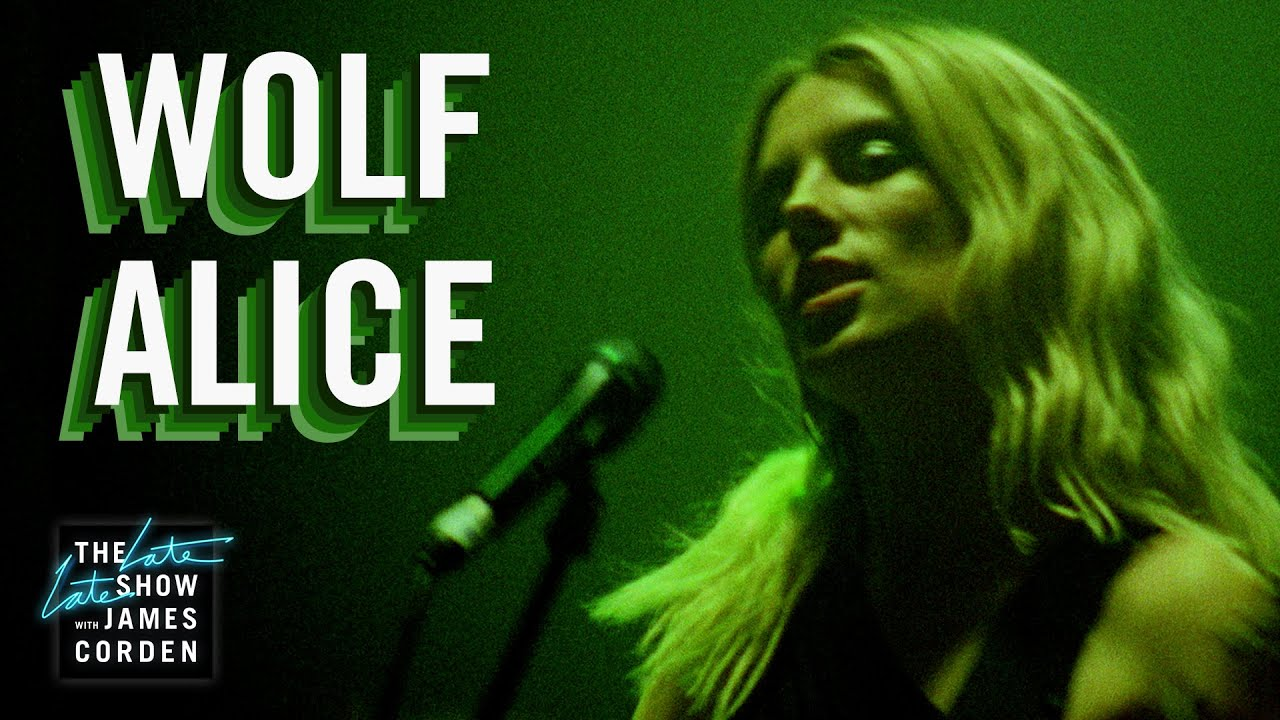 Le Live de la semaine – Wolf Alice – The Late Late Show with James Corden