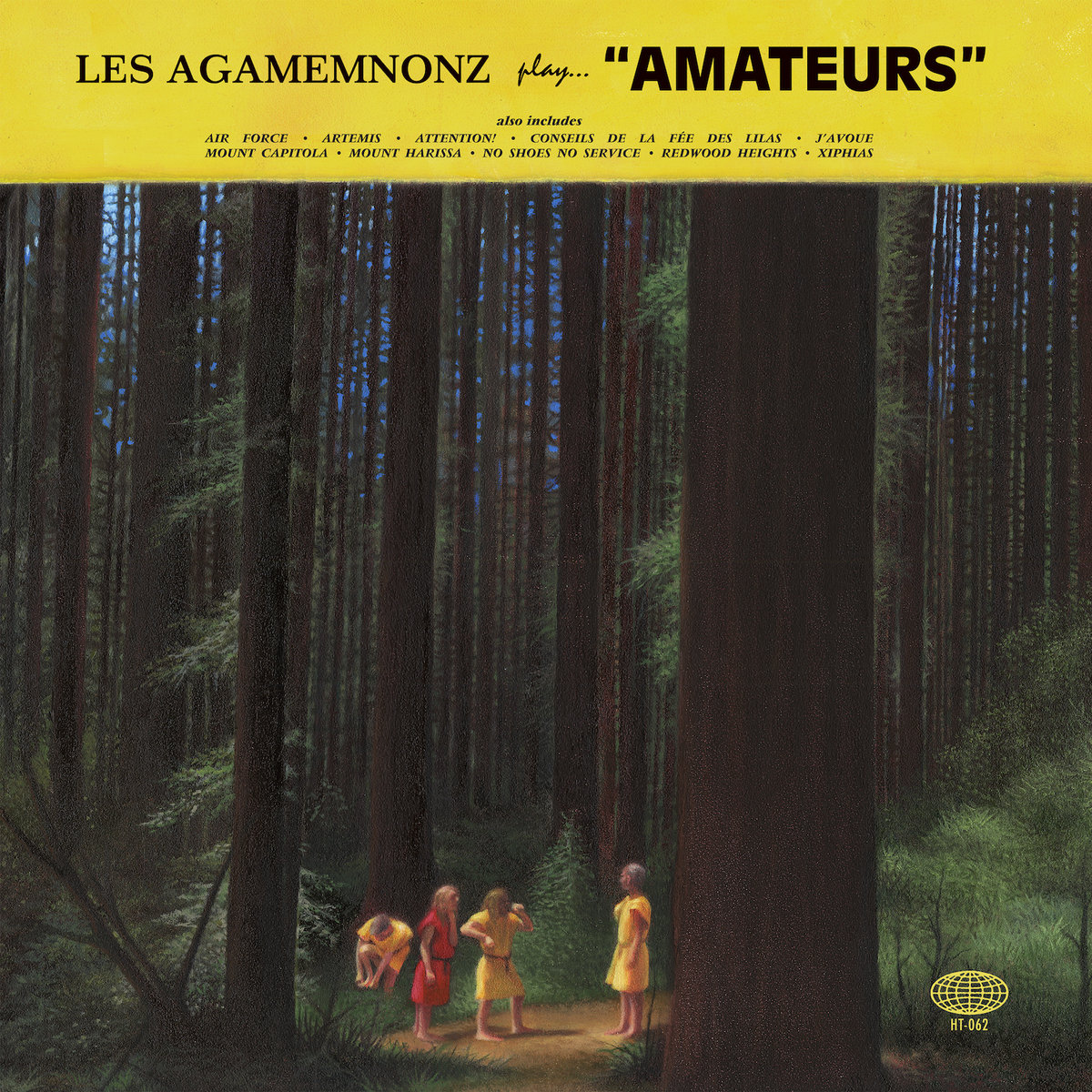 Activités très souterraines – Les Agamemnonz