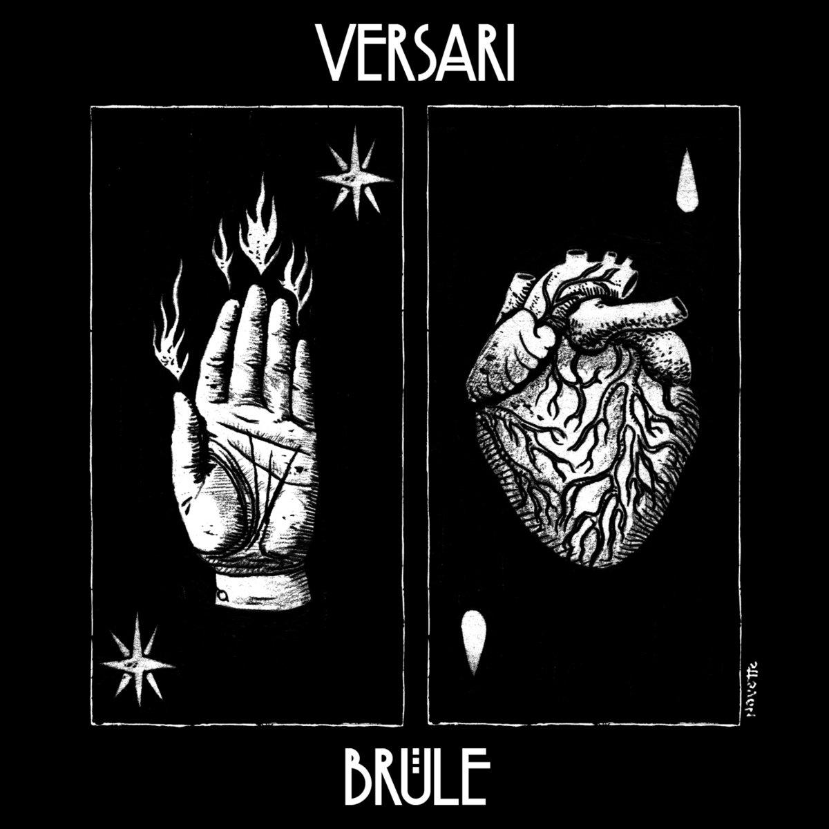 Post-punk shivers – Versari – Brûle EP