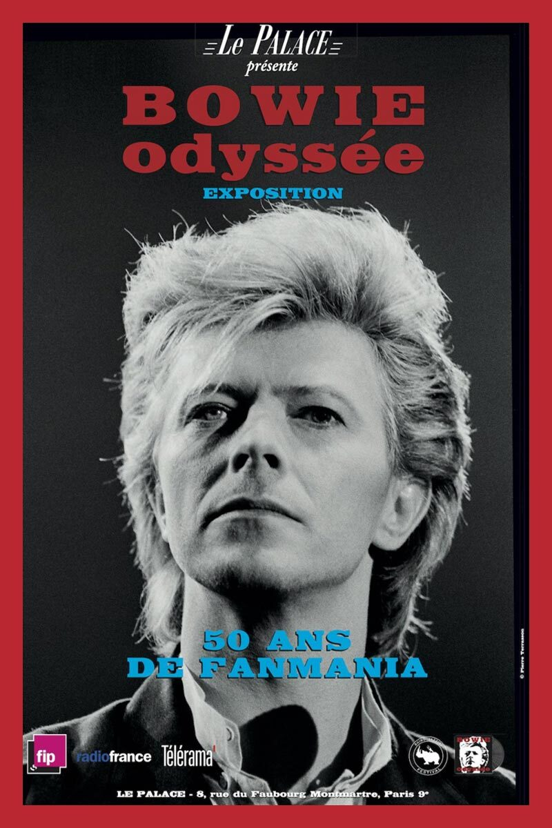 Curiosities – Expo – Bowie Odyssée, 50 ans de Fanmania