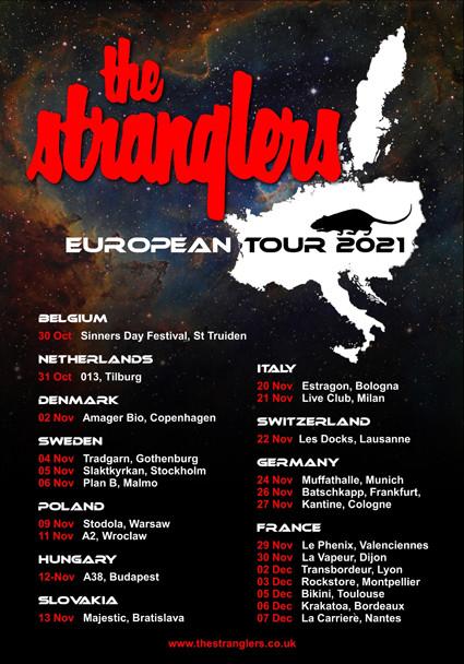 Bientôt En Concert Chez Nous – The Stranglers en France