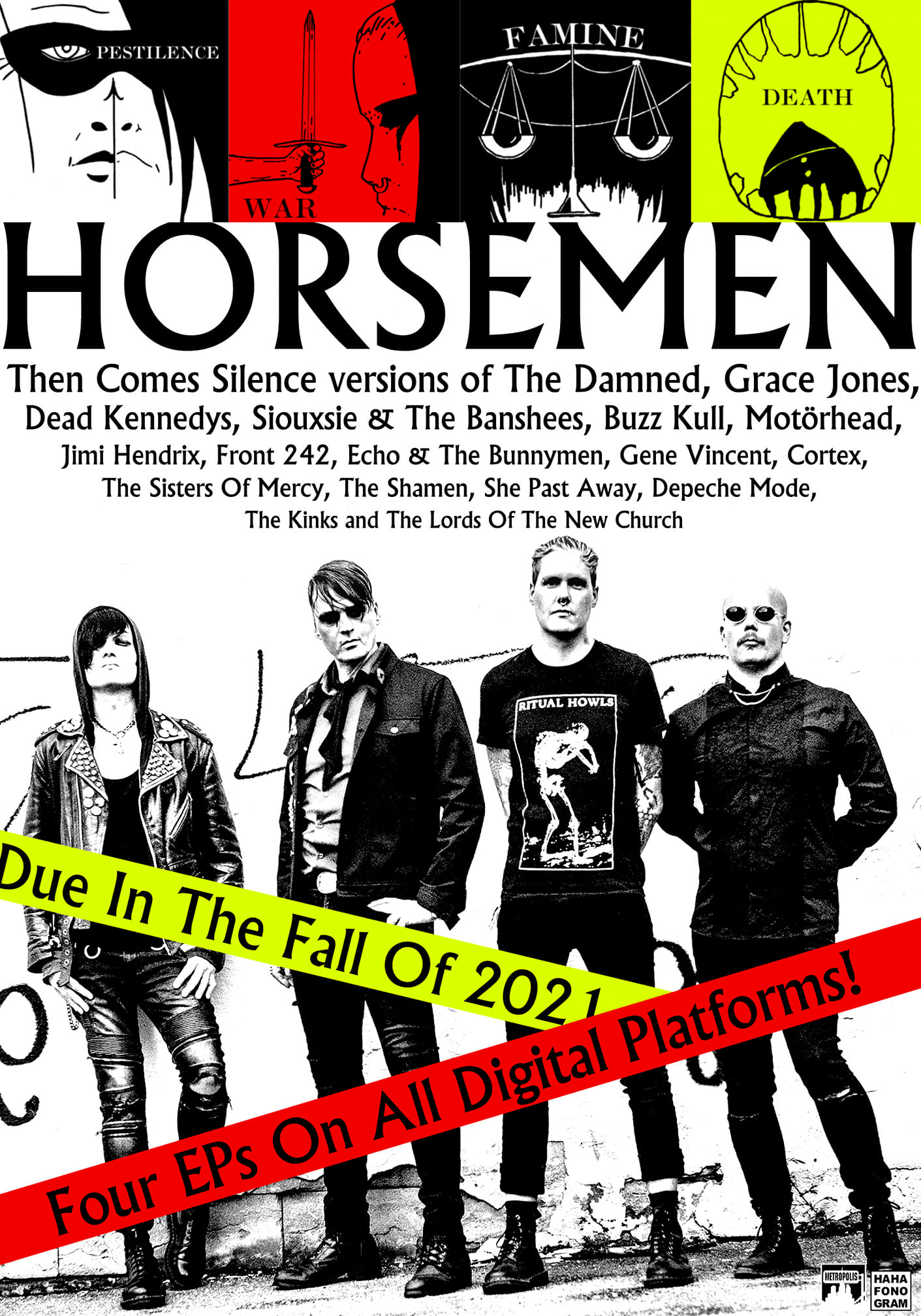Post-punk shivers – Horsemen – Then Comes Silence – Side Project