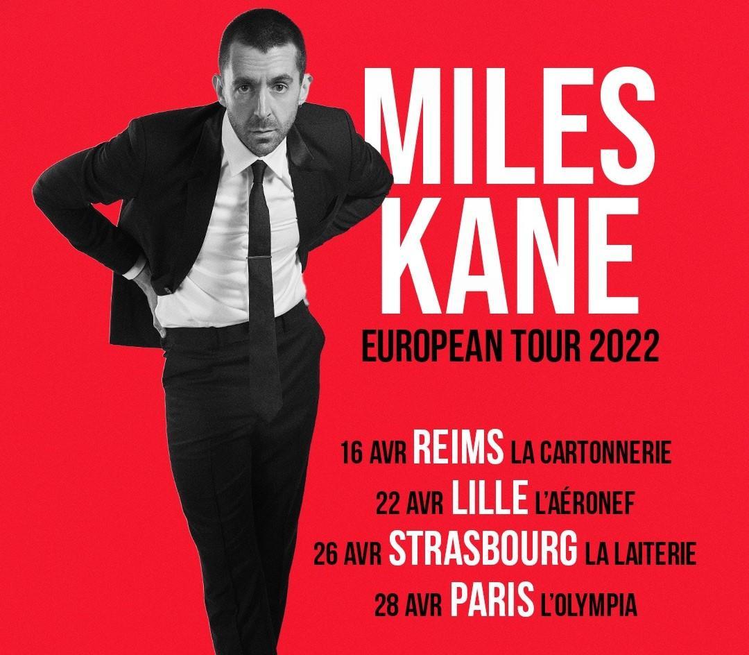 Bientôt En Concert Chez Nous – Miles Kane
