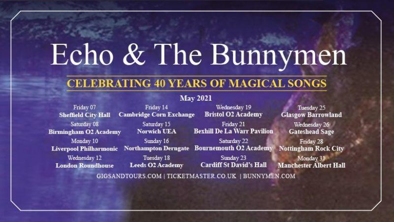 Bientôt En Concert Chez Nous – Echo & The Bunnymen – Tournée 2022