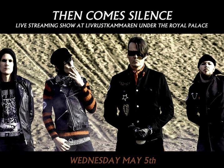 Le Live de la semaine – Then Comes Silence – Live Stream @ Livrustkammaren