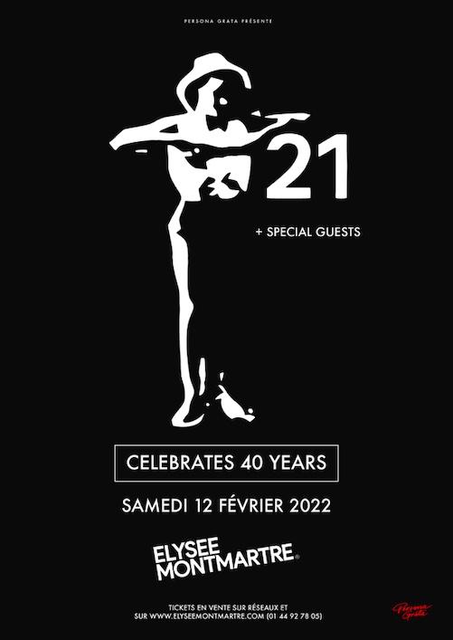 Bientôt En Concert Chez Nous – Trisomie 21 – 40 Years Tour